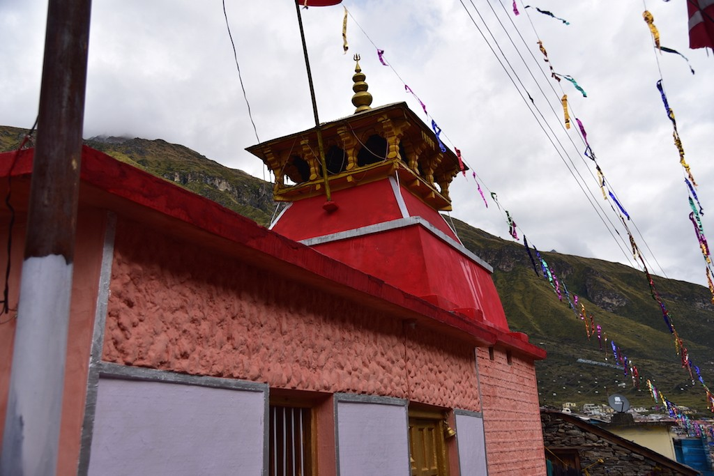 Bhagavathi temple at Bamni village.