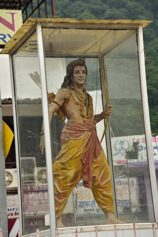 Lakshman statue near the eponymous bridge