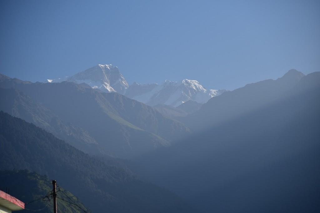 Snow Capped Peaks Triyugi Narayan