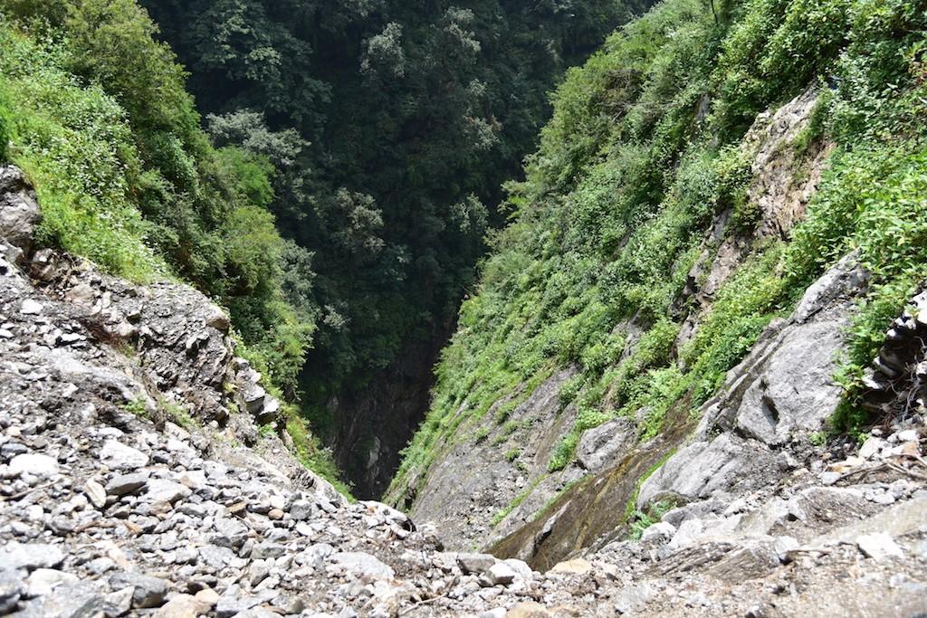 kedar route crevasse